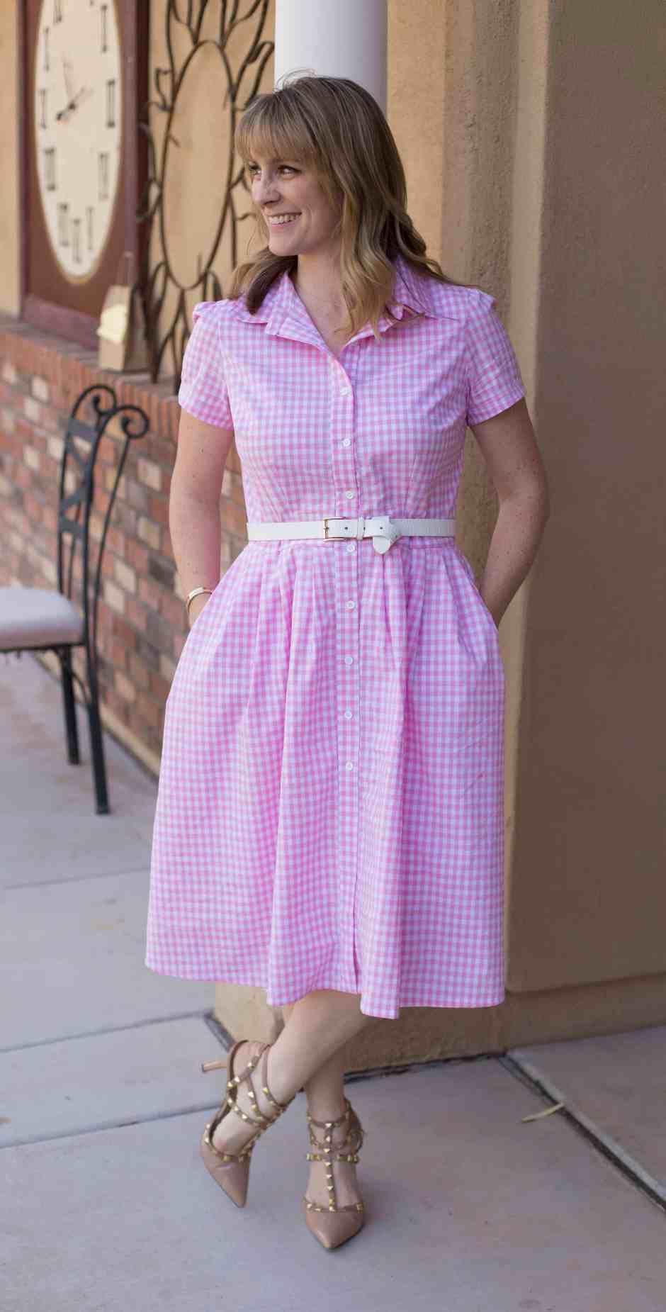 Customizable girls dress sewing pattern beginnerfriendly
