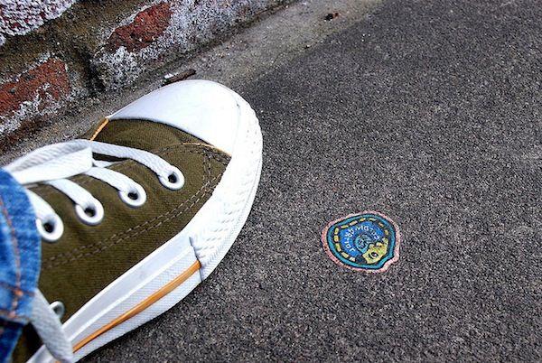 Bemalt Londons Kaugummis Straßen Auf StreetartBen Wilson O8nwXP0k