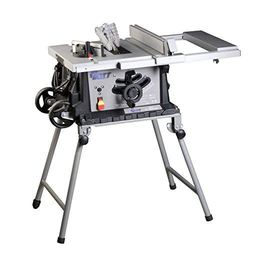 10 Inch 15 Amp Table Saw With Folding Stand Table Saw Portable