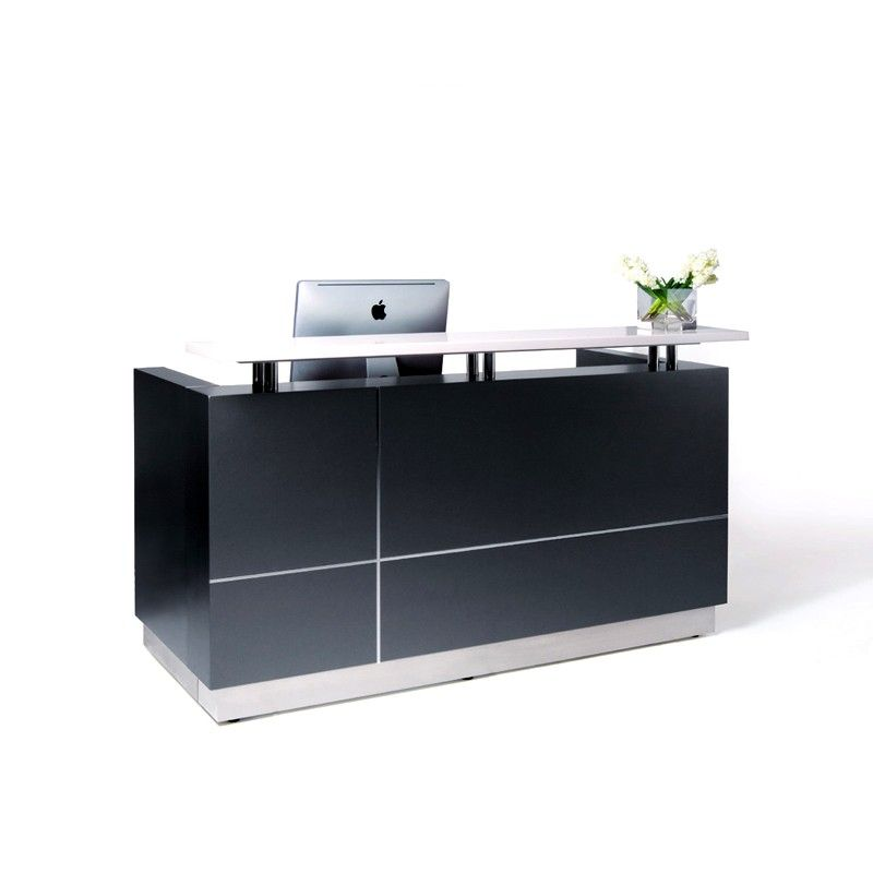 High Quality Modern front desk furniture wooden office reception counter