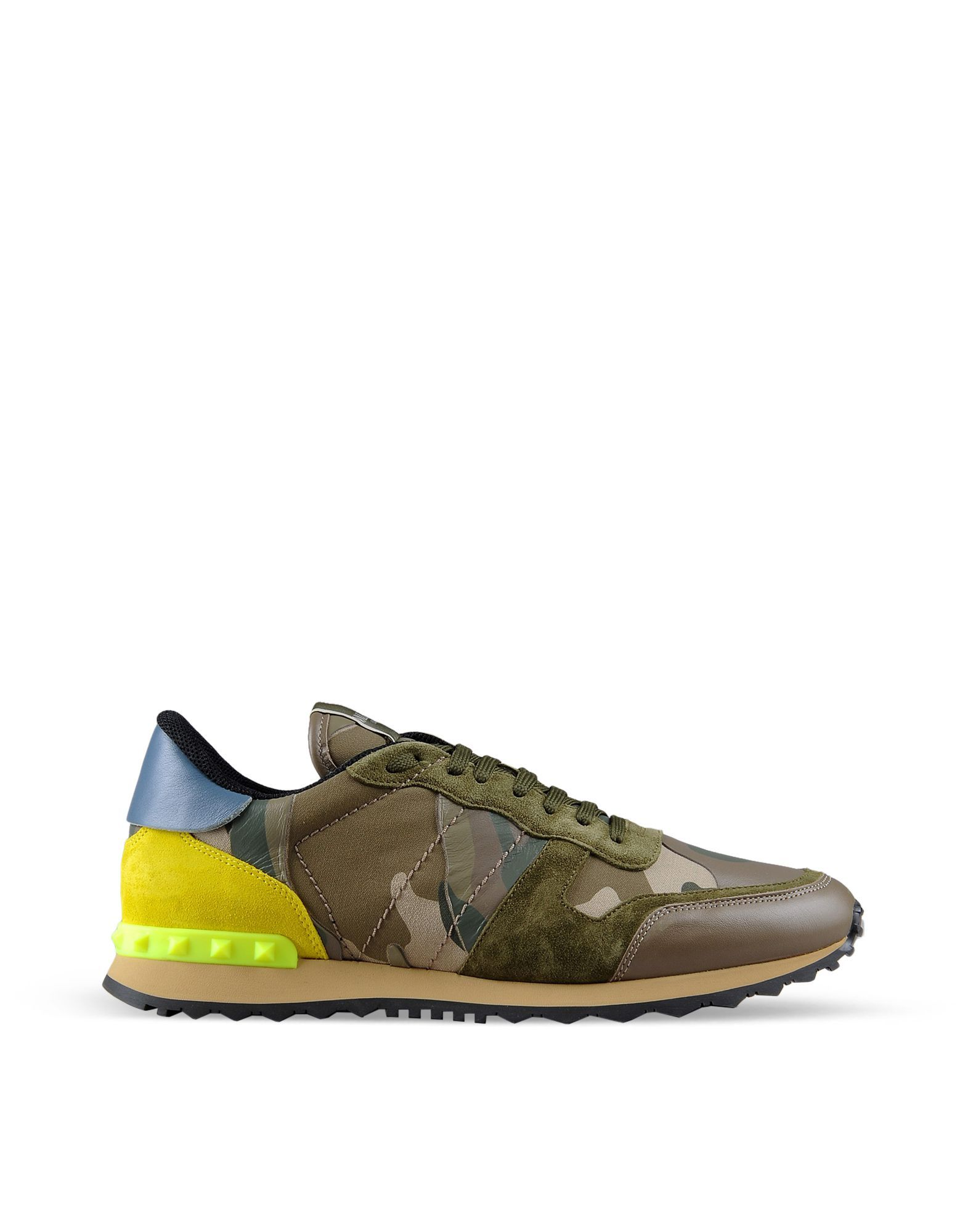 Discover the details of the Camouflage Rockrunner for Men. Find out all the  information at Valentino Online Boutique and shop designer icons to wear.