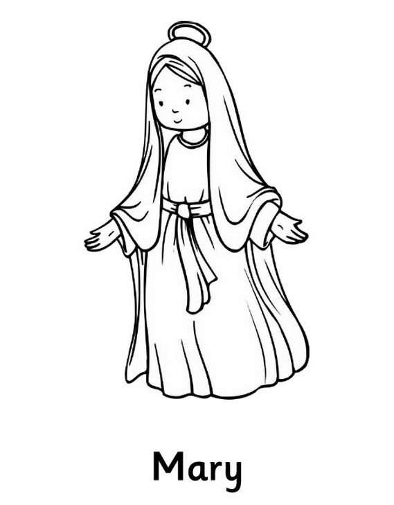 The Assumption Of Blessed Virgin Mary Glorious Mysteries Of The Rosary Coloring Pages Nativity Coloring Pages Nativity Coloring Catholic Coloring