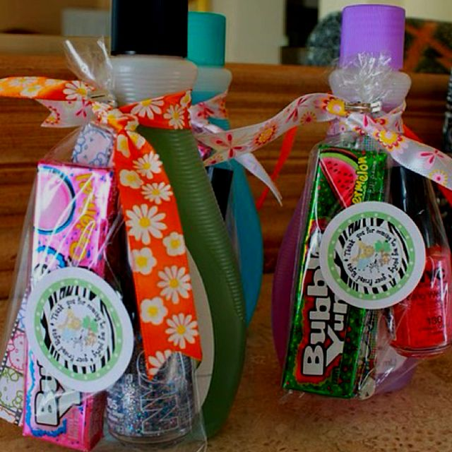 Nail Polish Bottles Fun Sleepover Games And Sleepover: Party Favors For Teens. May Use This Idea Pretty Soon
