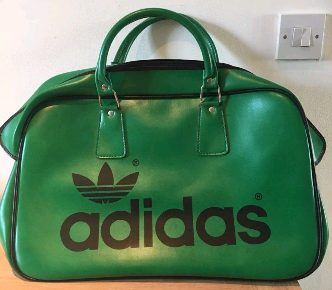600094699b8a Latest addition to my growing collection of vintage adidas sports bags  holdalls.