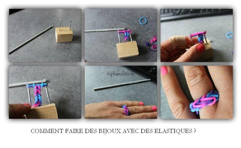 comment faire des bracelets en elastique