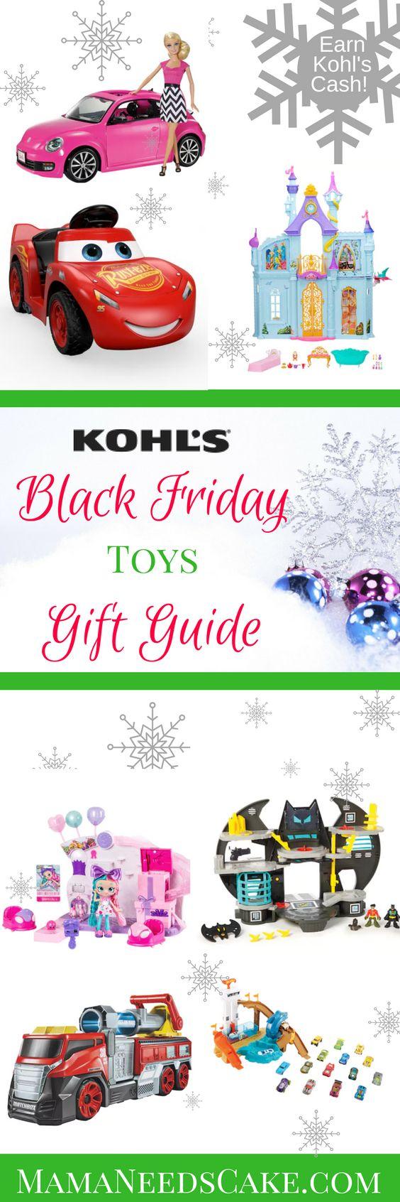 Kohl\'s Black Friday Toys Gift Guide