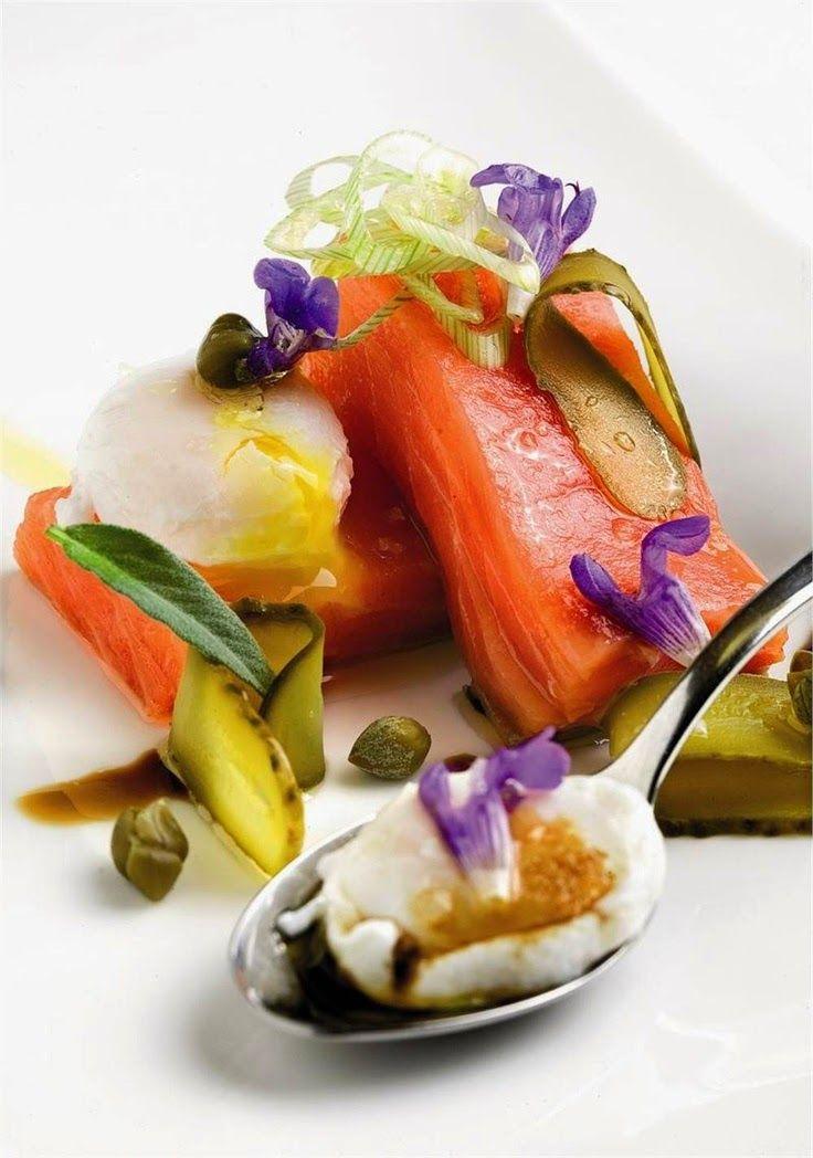 Studio Floral Dora Santoro: Flores Comestíveis   Michelin star food ...