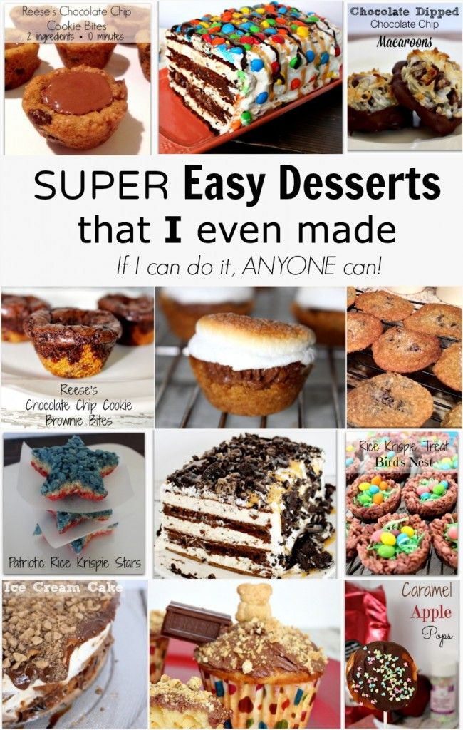 Any Easy Desserts To Make?