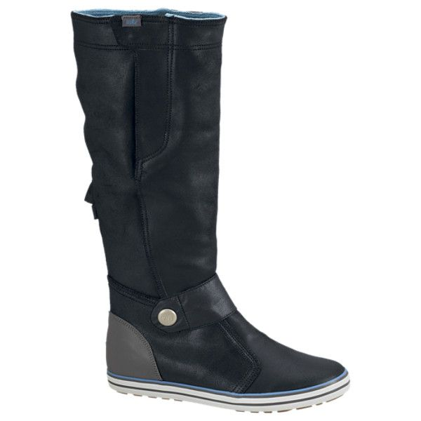 portugués Transeúnte Secreto  Nike Carico High Women's Boots - Black, 9 ($130) ❤ liked on Polyvore   Black  boots women, Boots, Womens boots