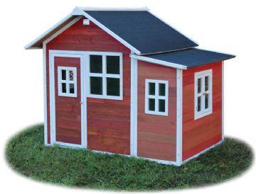 legehus loft 150 R�d - Exit legehus 500213 Shop - Eurotoys - Leget�j online