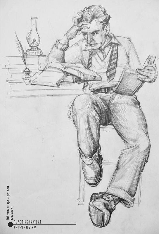 Yazar Imgesel Cizimi Cizim Arte Arte Lapiz Ve Manos Dibujo