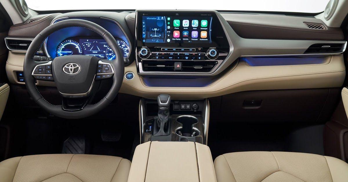 Carplay Coming To 2020 Toyota Highlander Nissan Versa And Hyundai Venue Applenews Toyota Highlander Interior Toyota Highlander Hybrid Toyota Highlander