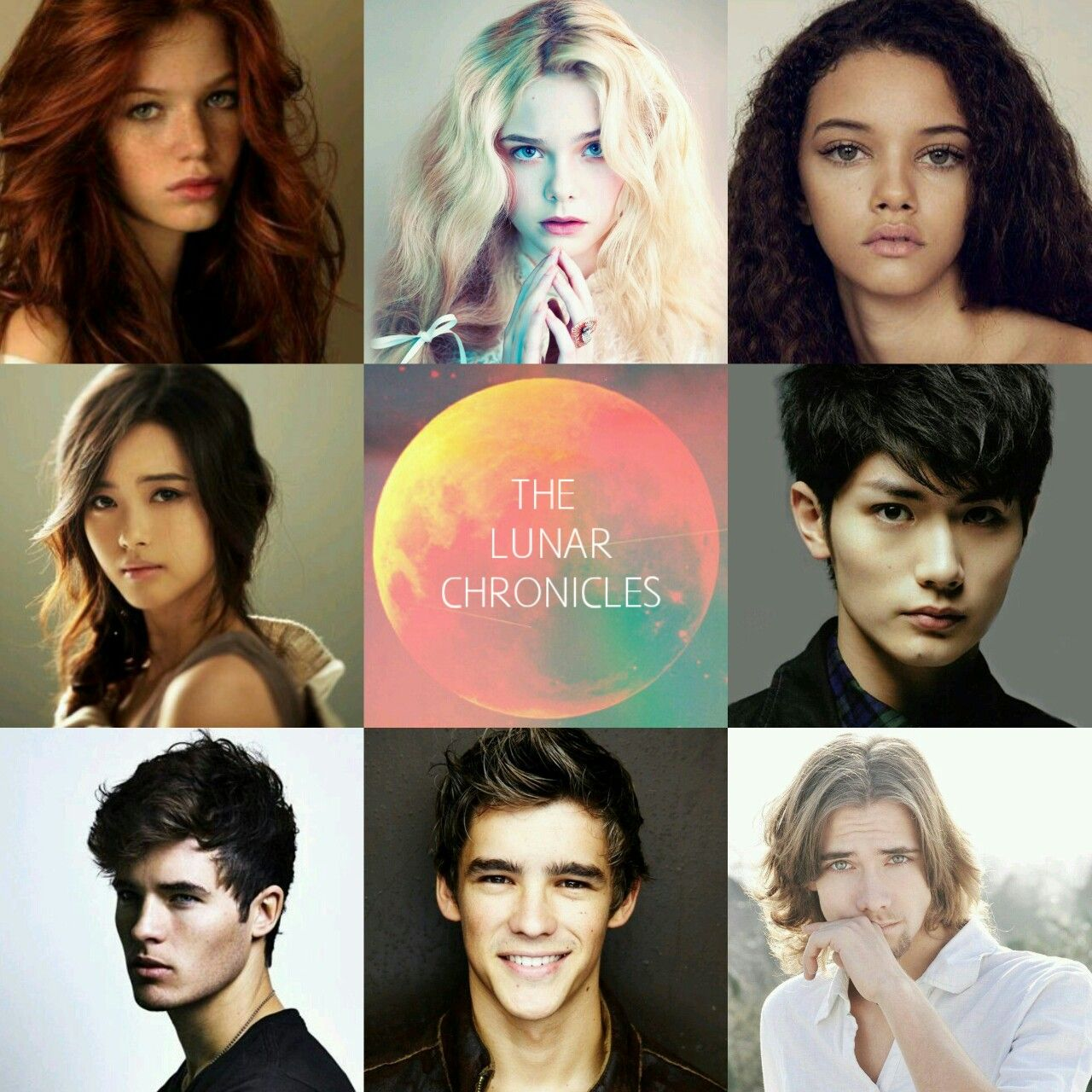 Lunar chronicles fan cast | lunar chronicles ☆ | Pinterest ...