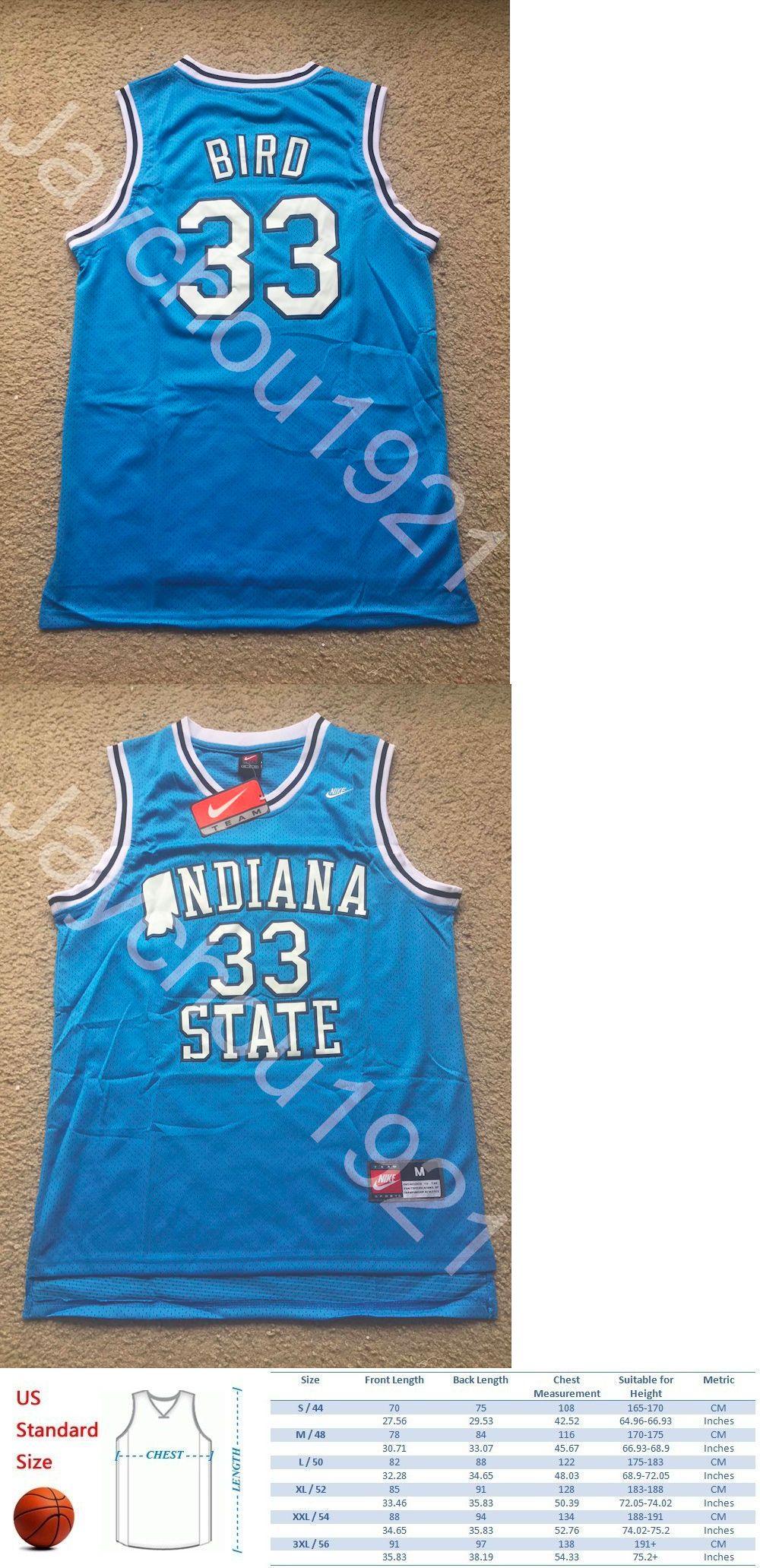best website caba6 22fcc indiana state sycamores 33 larry bird light blue swingman jersey