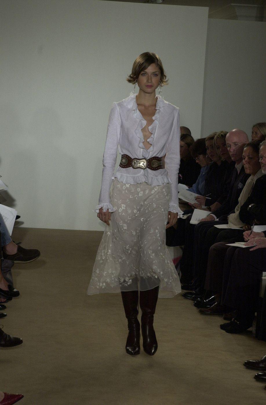 Ralph Lauren at New York Spring 2002