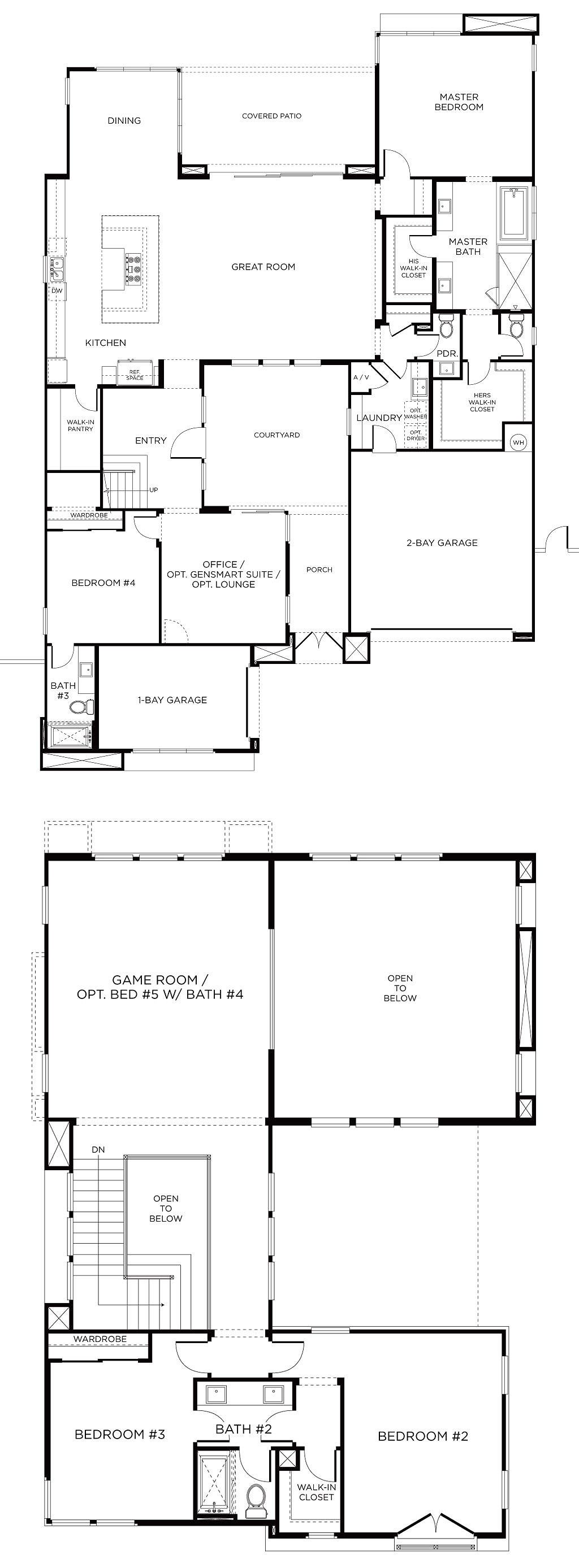 Executive Anvil Pardee Homes How To Plan Floor Plans,Table Engagement Decoration Ideas At Home