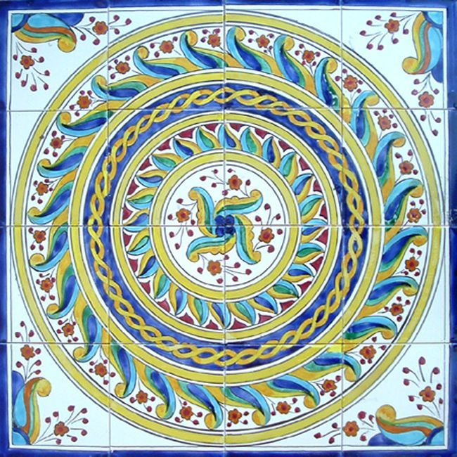 Decorative Tiles Australia Beauteous Limosaic Tiles Are Handmade And Handpainted In The Mediterranean Design Inspiration