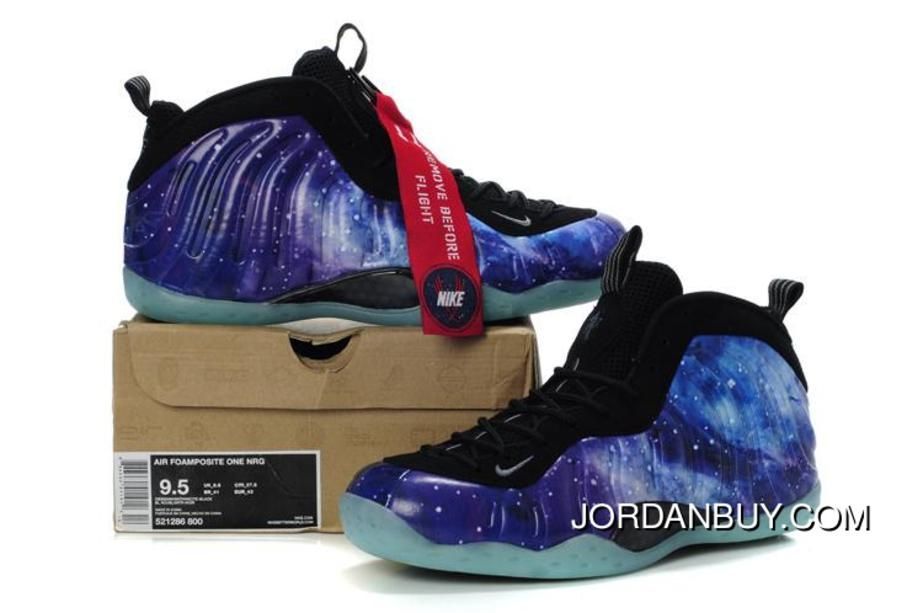 Nike Air Foamposite One Galaxy Sneakers in 53850