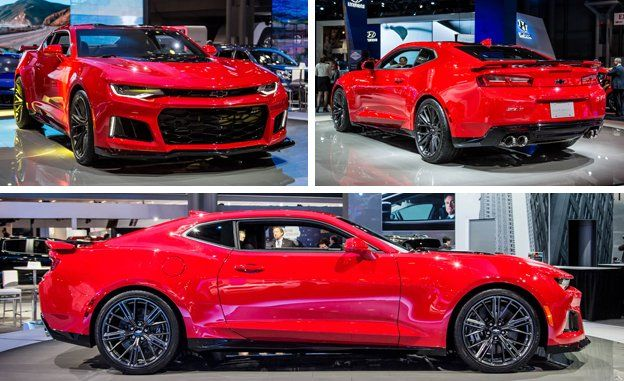 The New Lighter Chevy Camaro Zl1 Takes Its Supercharged