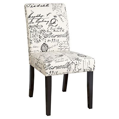 Dining Chair, Script Fabric at Big Lots. This was at Target for double price last month, gosh wish I had some extra money to furnish the new place!