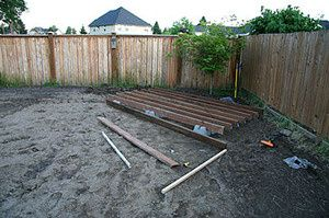 I think we're going to build a deck this summer!