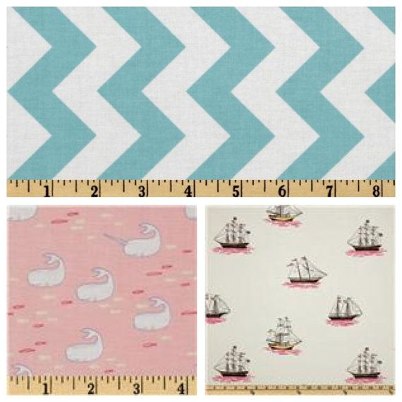 Coral Crib sheet whale baby bedding baby boy baby girl by TASbabyfactory, $32.00