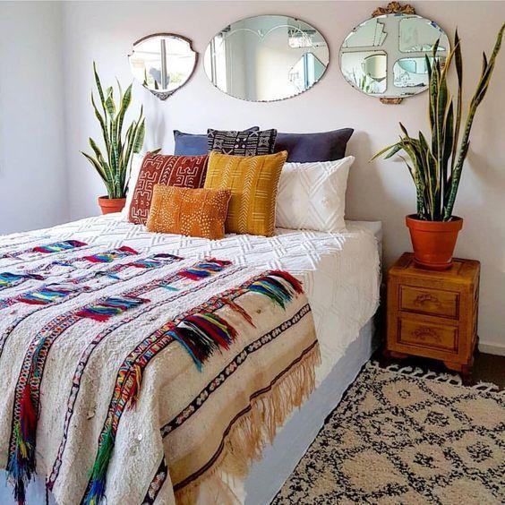 33 BEST COMFY BOHEMIAN BEDROOM DECOR IDEAS MAKE YOUR ENJOY #bohemianbedrooms