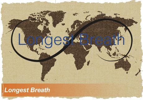 Longest Breath