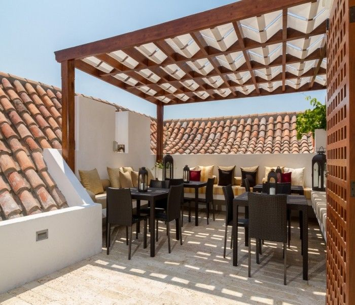 how to build a rooftop pergola