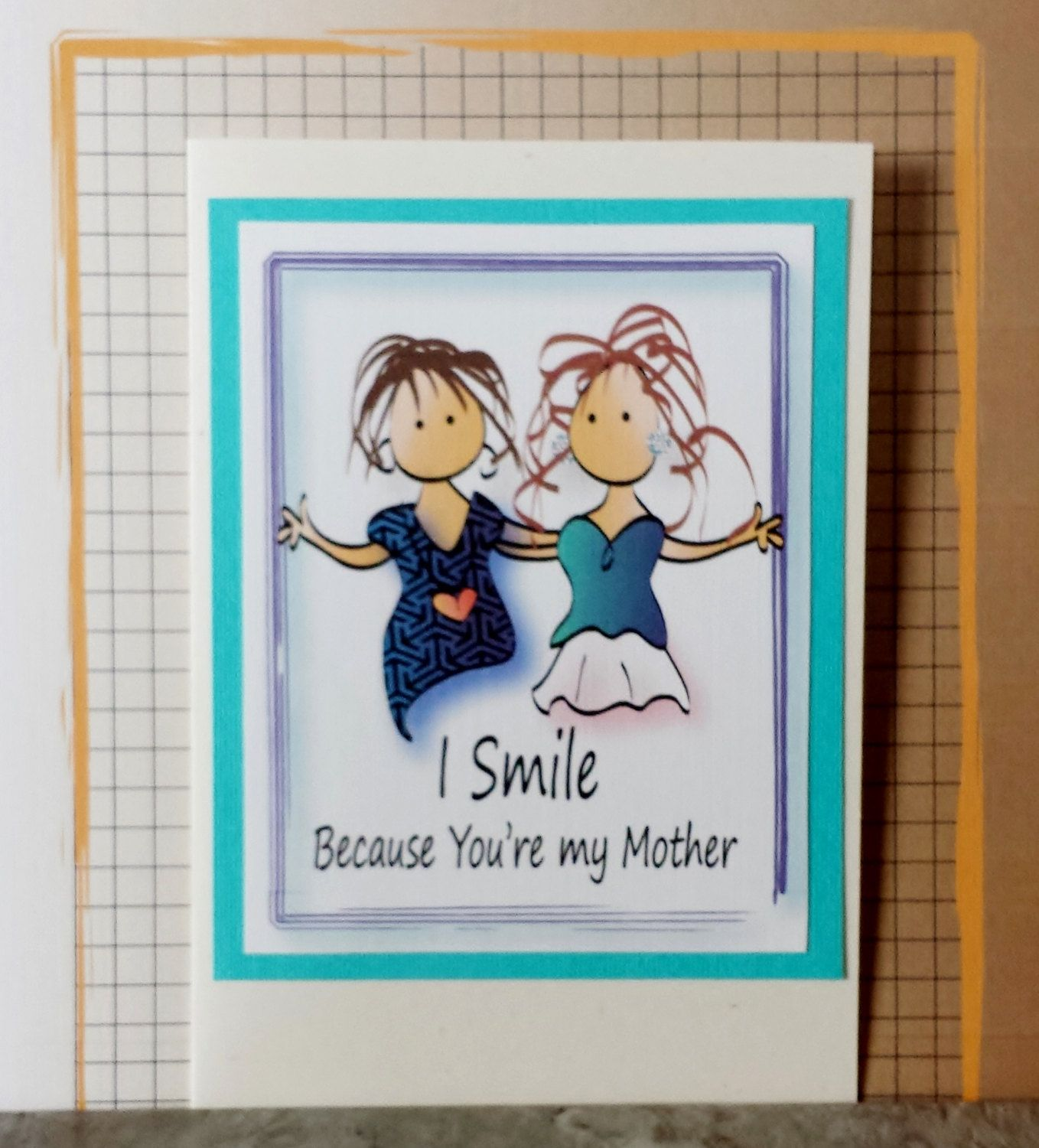 Funny Mother Birthday Card Funny Mom Birthday Card Funny Mom and