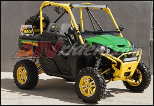 Dragon Fire Racings John Deere Gator RSX 850i SxS  Automotive