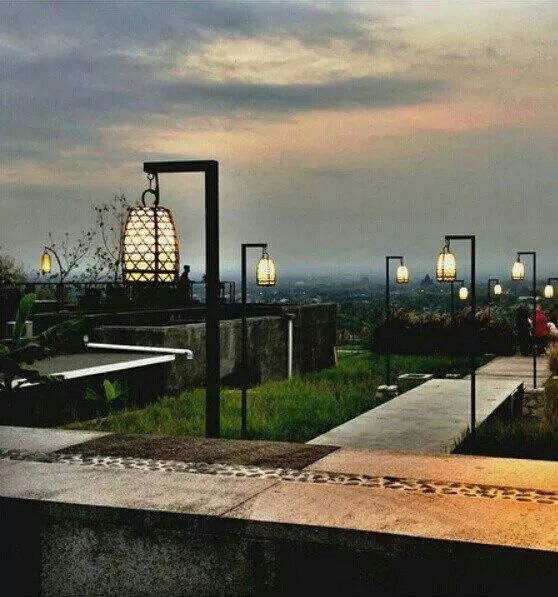 Spot Prewedding Jogja Outdoor Abhayagiri Restaurant: Beautiful View To Get Dining.., Abhayagiri Restaurant