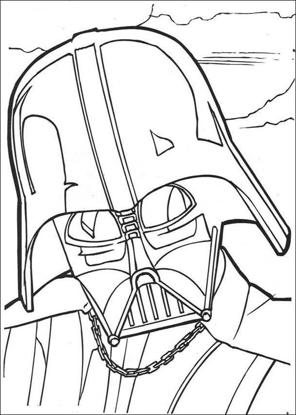 Darth Vader Coloring Pages | Arts & Crafts | Pinterest | Dibujo