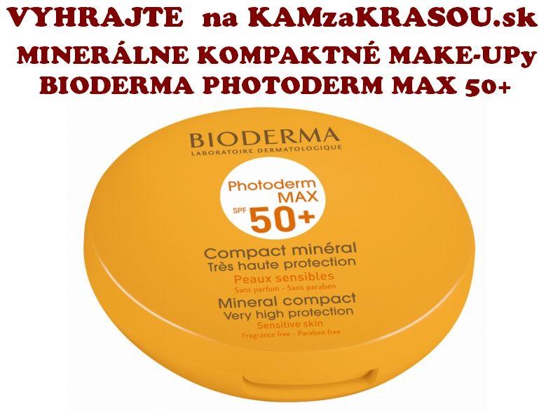Vyhrajte Bioderma Photoderm MAX 50+ make-up - KAMzaKRÁSOU.sk