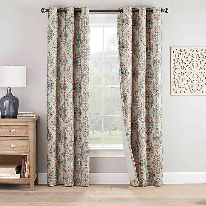 Eclipse Bari 2 Pack Grommet Window Curtain Panels Bed Bath Beyond Panel Curtains Curtains Window Curtains