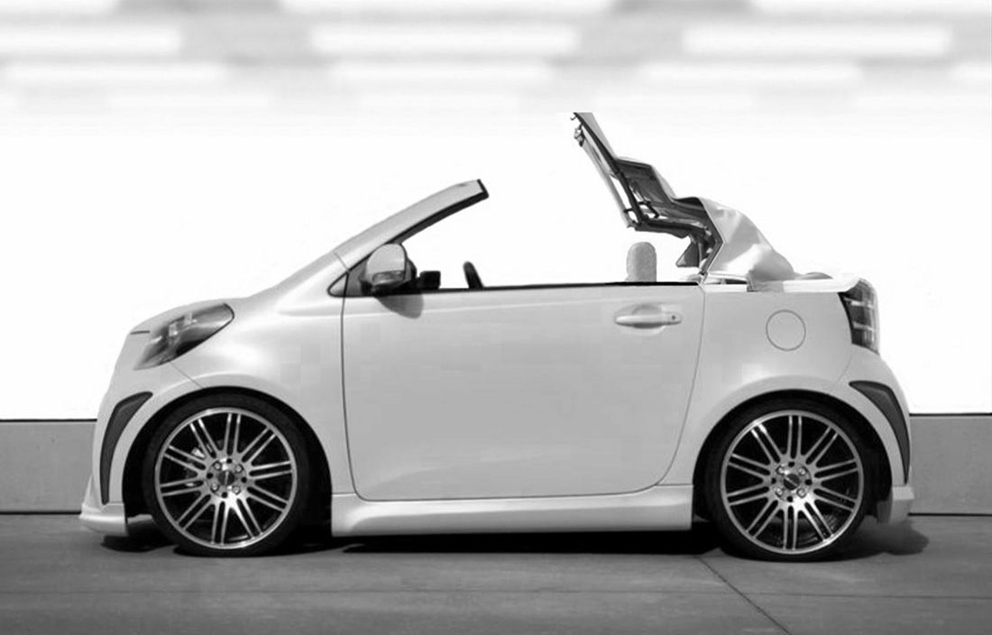 Scion Iq Convertible Going Up Kuhl Kars Pinterest Scion And