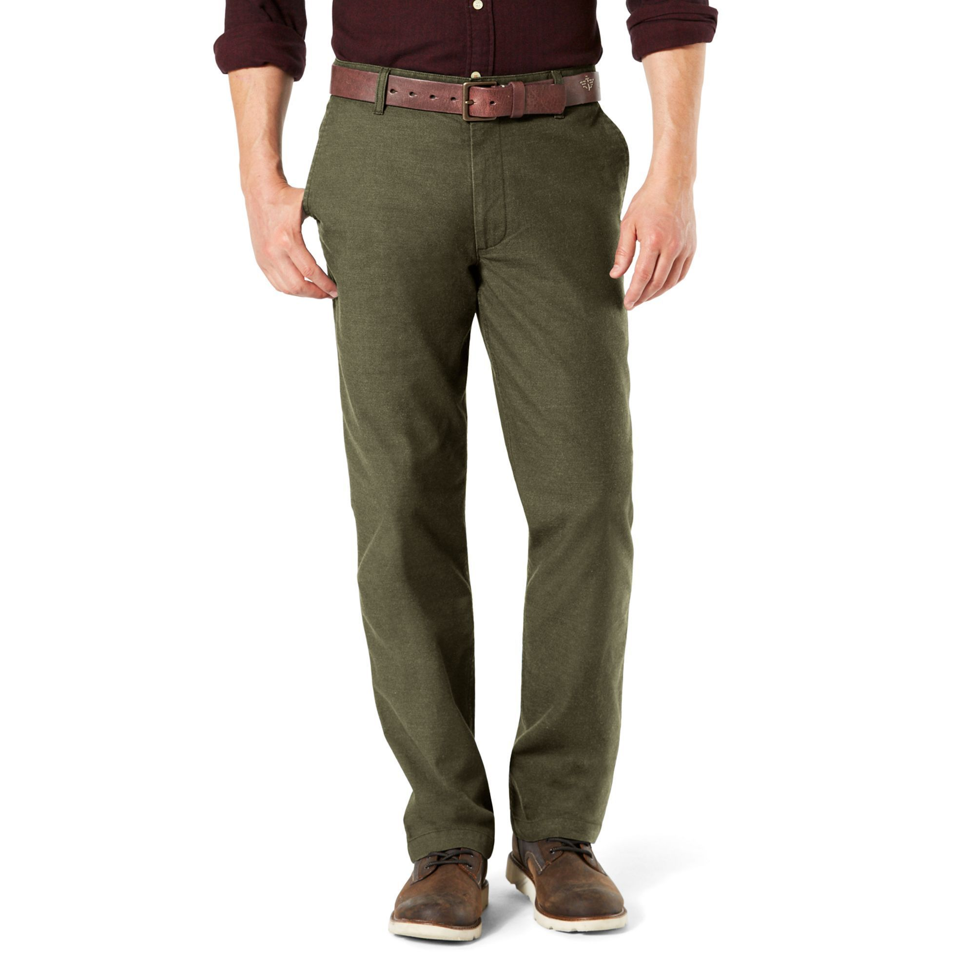 0ad63d0f0 Men s Dockers Pacific Straight-Fit Washed Khaki Stretch Pants ...