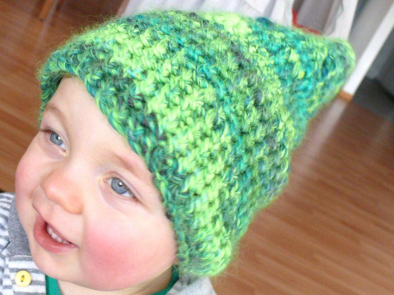 Baby Zipfelmütze Mütze Haube Zwerg Neongrün Von Klitzefanten Auf DaWanda.com