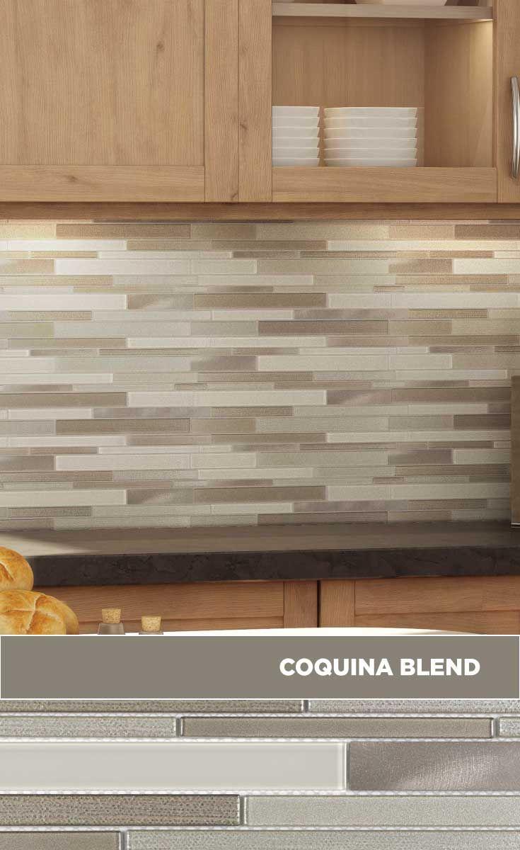 - Tile #lowes #mosaics #glassmosaics #backsplash SB162COBL1213
