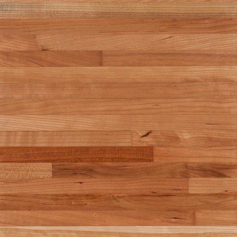 American Cherry Butcher Block Countertop 12ft Floor Decor In 2020 Butcher Block Countertops Butcher Block Countertops