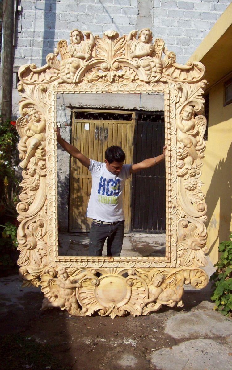 marcos tallados a mano, Celaya, guanajuato - Google Search | s k ...