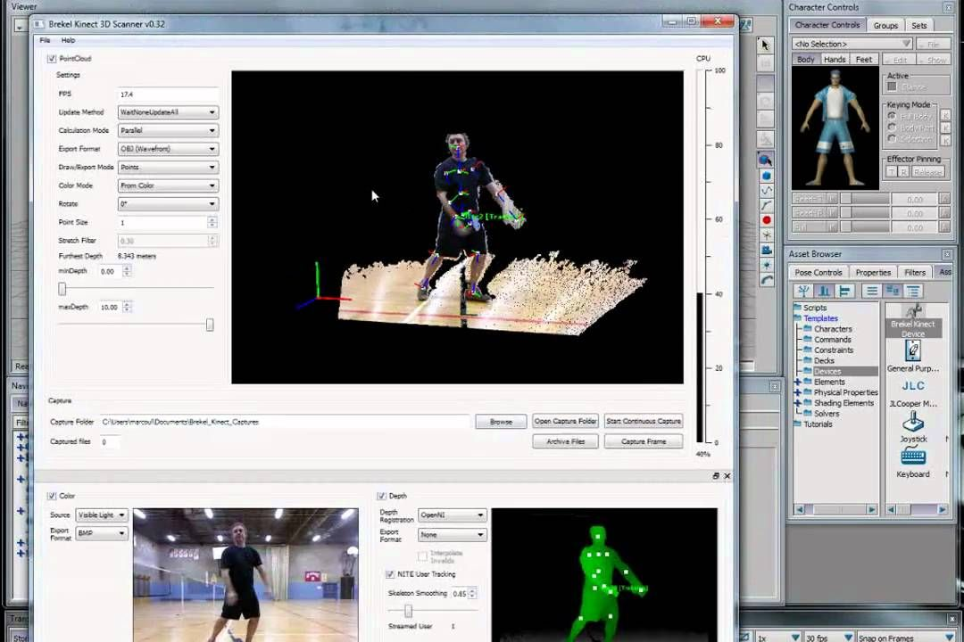 How to us a Kinect to do Mocap in Motionbuilder   MOTION