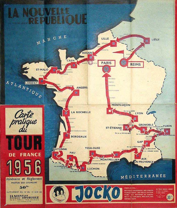 A La Walkowiak Tour De France Velo Tour De France Tour De