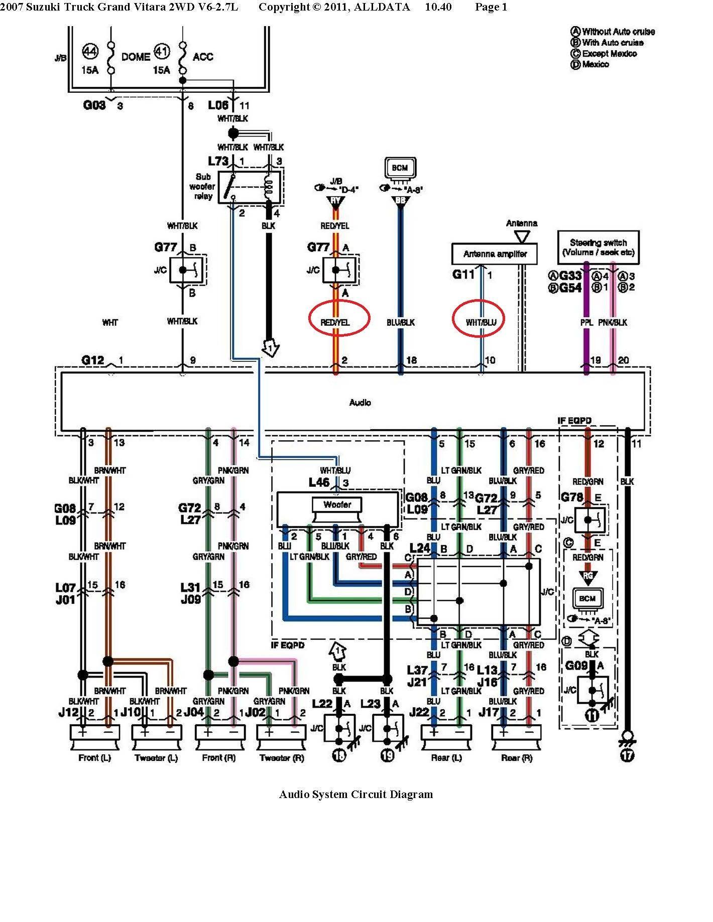 Unique Car Stereo Radio Wiring Diagram  Diagramsample  Diagramformats  Diagramtemplate