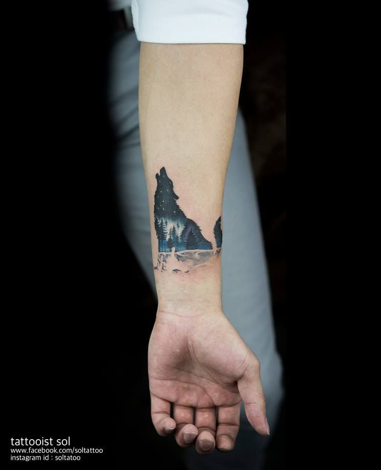 Delightful Small Tattoos By Sol Tattoo Lobos Pinterest