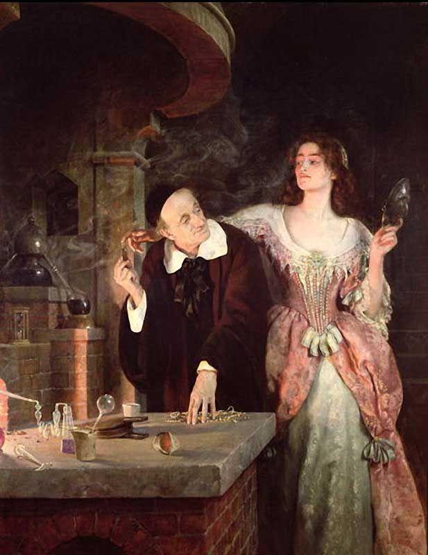 fleurdulys: The Laboratory - John Collier 1895