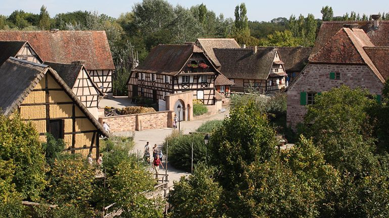 Lu0027#Écomusée du0027#Alsace, partenaire #PassAlsace, est organisé comme un - la maison de l artisan