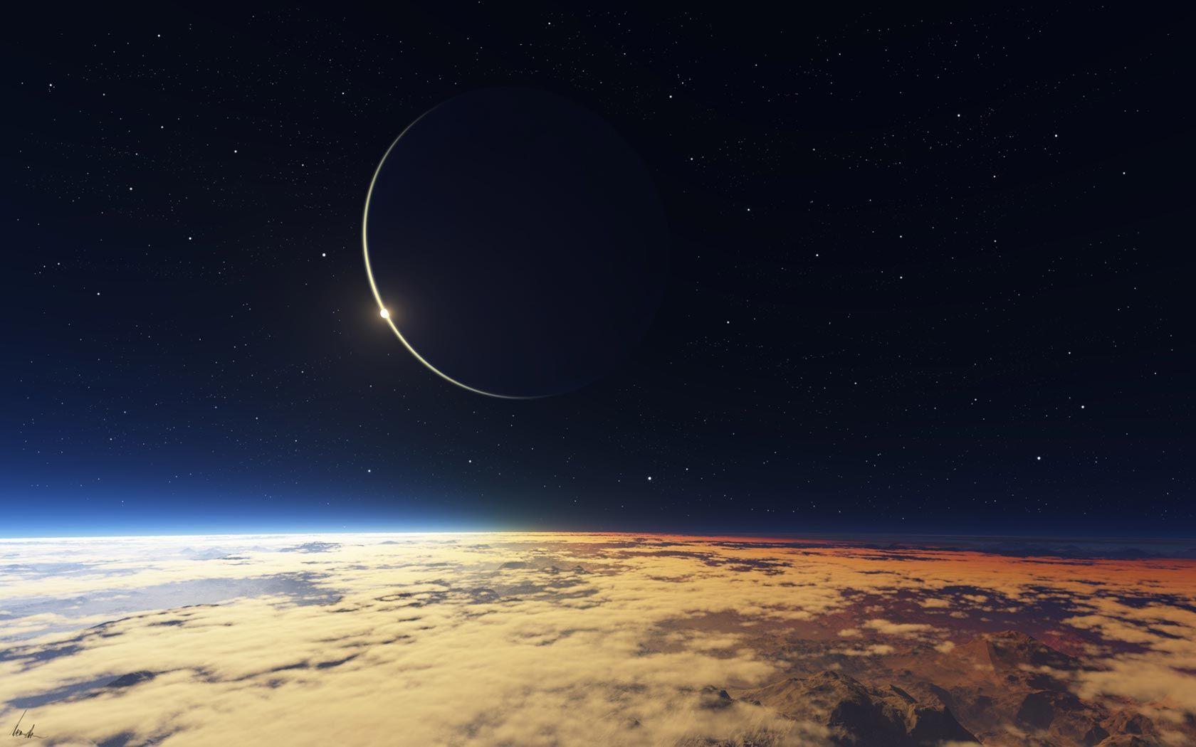 Hd wallpaper moon - Moon Eclipse Hd Background Wallpaper