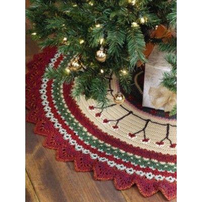 Free Tree Skirt Crochet Patterns Heather Pinterest Crochet