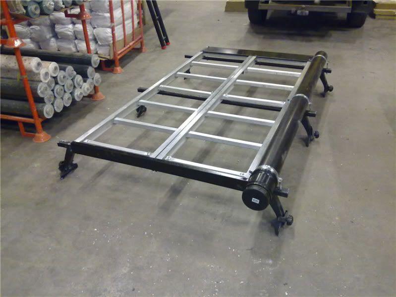 Homemade roof rack